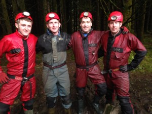 Caving Stag Party