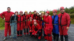 Caving Hen Party