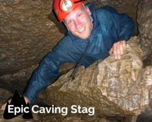 Epic Ireland Caving Stag Party